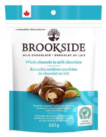 BROOKSIDE Amandes enrobées de chocolat au lait - image 1 de 2