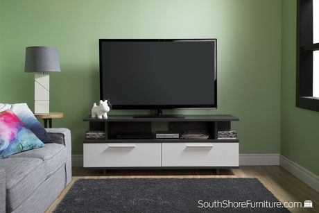 South Shore Reflekt TV Stand with Drawers, for TVs up to 60 inches - image 4 of 8
