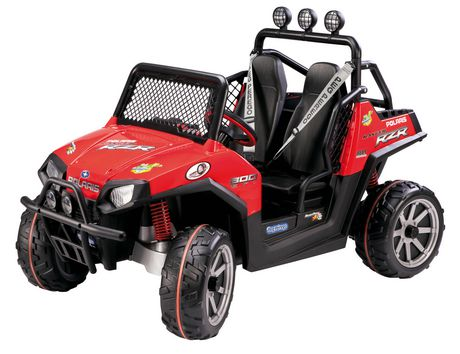 Peg Perego Polaris Ranger Rzr Red Ride-On
