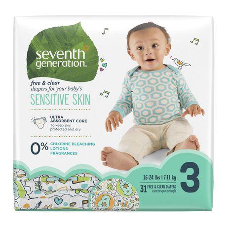 Seventh Generation Sensitive Skin Diapers - image 1 of 6
