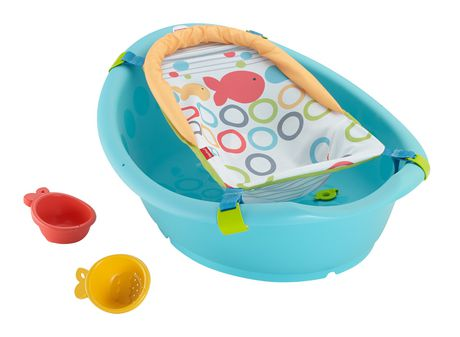 fisher-price rinse 'n grow bath tub | walmart canada