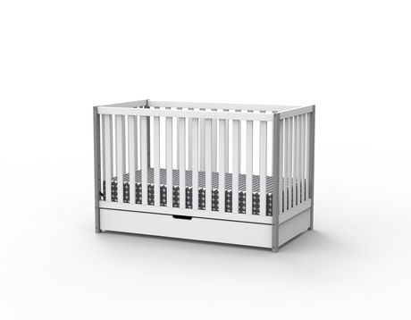 Delta Children Bella 4 In 1 Convertible Crib With Under Drawer