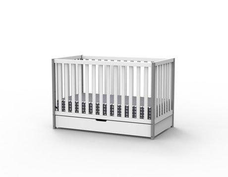 delta children bella 4 in 1 convertible crib with under drawer walmart canada. Black Bedroom Furniture Sets. Home Design Ideas