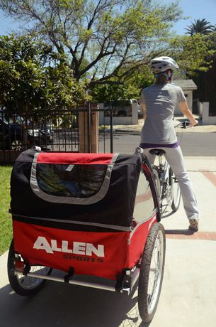 Two Child Bike Trailer - image 2 of 4