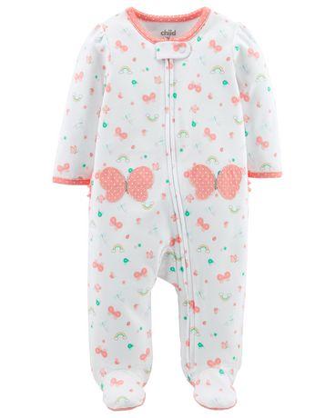 ae8b58a4da0ec Tenue avec pyjama-grenouillère pour nouveau-née fille Child of Mine made by  Carter s ...