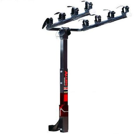 Allen Sports Deluxe Four Bike Hitch Carrier For 2 Hitch Only