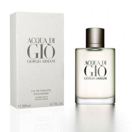 giorgio armani acqua di gio eau de toilette spray for 200 ml