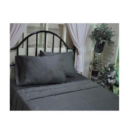 hometrends ensemble de draps de t400 fils au pouce carr satin de coton de lu. Black Bedroom Furniture Sets. Home Design Ideas