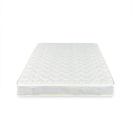 Zinus 6 Inch Comfort Spring Mattress Walmart Canada