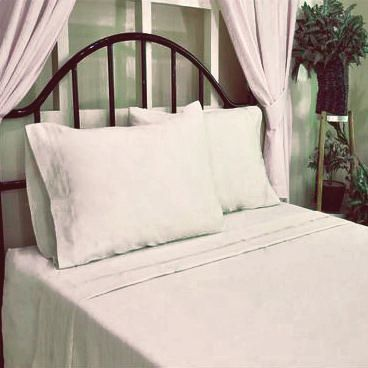 hometrends T400 Thread Count Standard Luxury Sateen Pillowcase - image 1 of 1