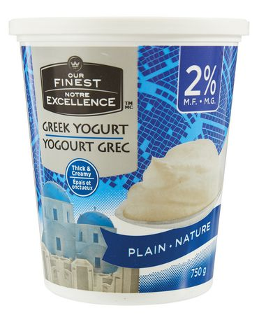 our finest plain 2 m f greek yogurt walmart canada