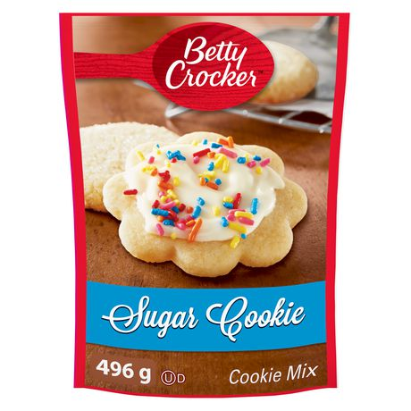 Paquet de mélange de biscuits au sucre Betty Crocker