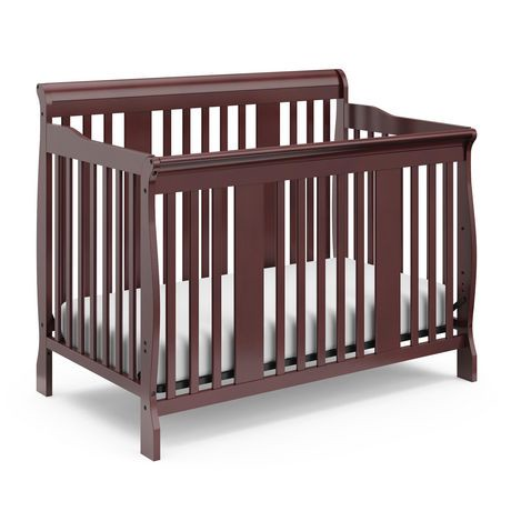 fixed raw verona convertible crib storkcraft side