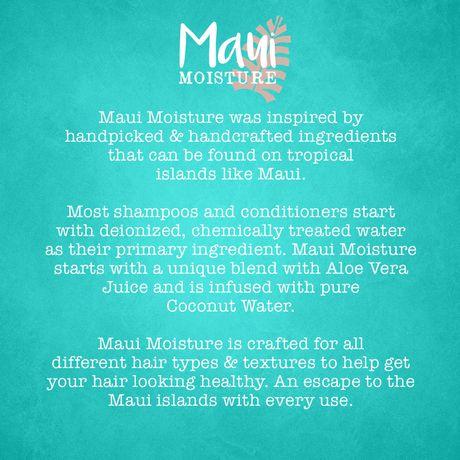 Maui Moisture Heal & Hydrate + Shea Butter Shampoo - image 5 of 5