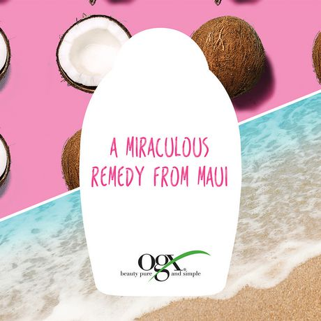OGX Extra Creamy + Coconut Miracle Oil Ultra Moisture Body Wash - image 3 of 4