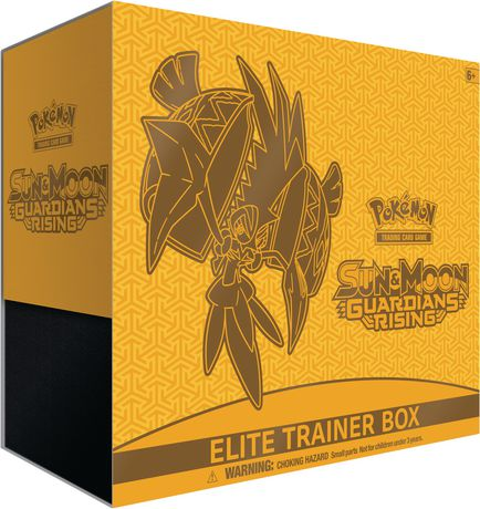Pokemon Sun & Moon Guardians Rising Elite Trainer - English Only - image 1 of 1