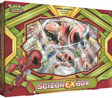 Pokemon Scizor-EX Box- English Only - image 1 of 1