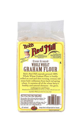 What is graham flour made from
