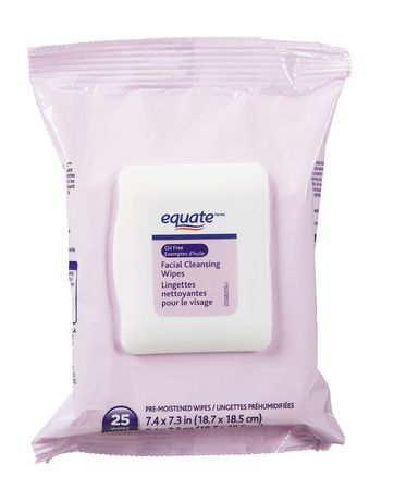 Equate Oil Free Facial Cleansing Wipes - image 1 of 1
