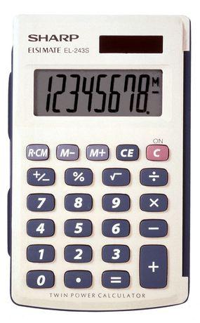 SHARP EL243SB Handheld Calculator - image 1 of 1