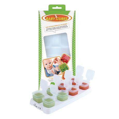 Contenant à ranger d'aliment pour bébé de Baby Cubes - image 3 de 4