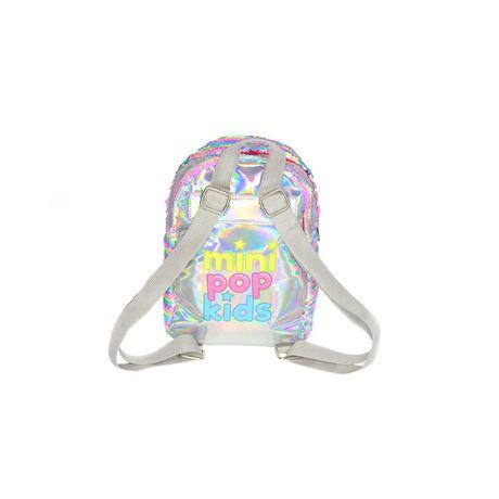 Girls Mini Pop Kids Sequins Mini Back Pack - image 4 of 6