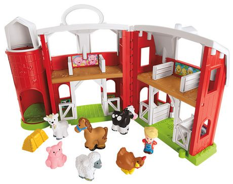 Fisher-Price Little People Animal Friends Farm Playset ...