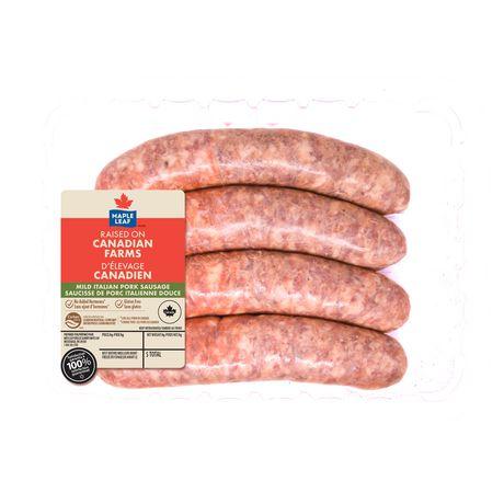 Maple Leaf Mild Italian Pork Dinner Sausages - image 2 of 3