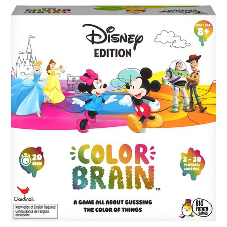 Big Potato - Disney Colorbrain Family Quiz Game - image 1 of 1