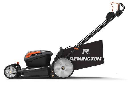 Remington 18 Aeb2 C8883 Rm4060 53,3 cm 3 en 1 sans fil rechargeable Push tondeuse à gazon – 40 V max/36 V Normal Contenance - image 2 de 5