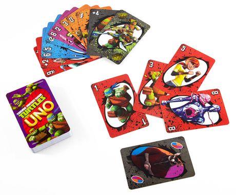 Teenage Mutant Ninja Turtle UNO Card Game - image 3 of 8