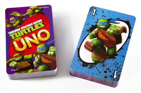 Teenage Mutant Ninja Turtle UNO Card Game - image 4 of 8