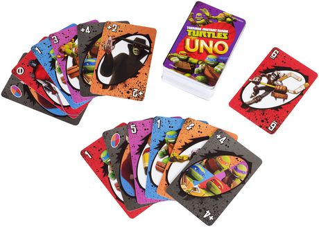 Teenage Mutant Ninja Turtle UNO Card Game - image 5 of 8