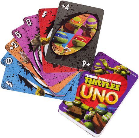 Teenage Mutant Ninja Turtle UNO Card Game - image 6 of 8