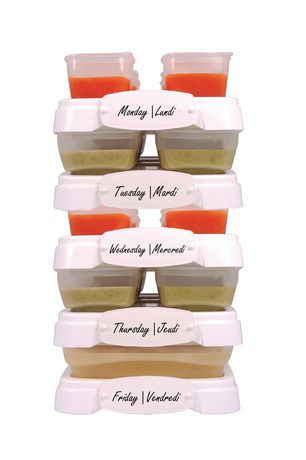 Baby Cubes Baby Food Containers - image 2 of 4