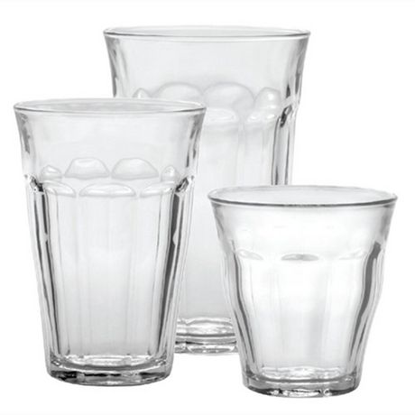 9127fd47ae6d Duralex Picardie Clear 18 Piece Tempered Tumblers Set - image 1 of 4 ...