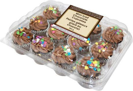 TwoBite Mini Iced Chocolate Cupcakes Walmart Canada