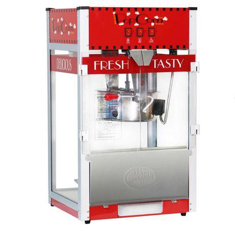 Bullseye popcorn maker commercial table top 16 oz - image 1 of 8