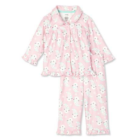 f9bb6a306df0 George Baby Girls  2-Piece Pajama Set