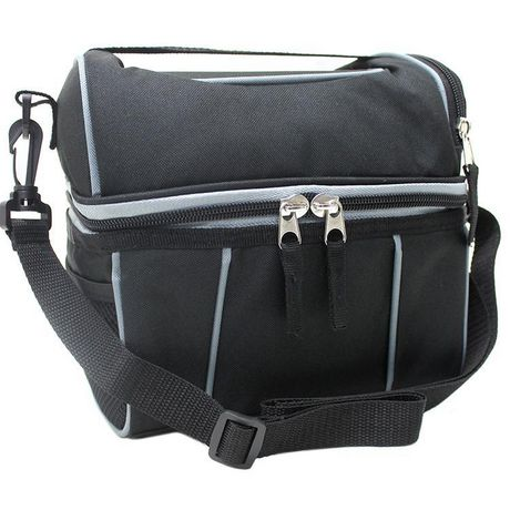 DOME LUNCH BAG BLACK - image 1 of 3