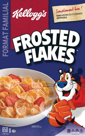 Kellogg's Frosted Flakes Cereal, Family Size, 650g - image 2 of 4