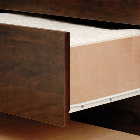 Prepac Tall Queen Captain S Platform Storage Bed With 12