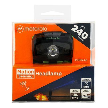 Motorola 240 Lumen LED Headlamp with Motion Sensing - image 3 of 3
