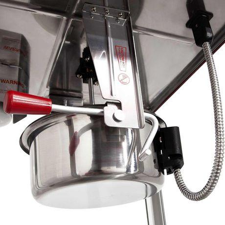 Bullseye popcorn maker commercial table top 16 oz - image 3 of 8
