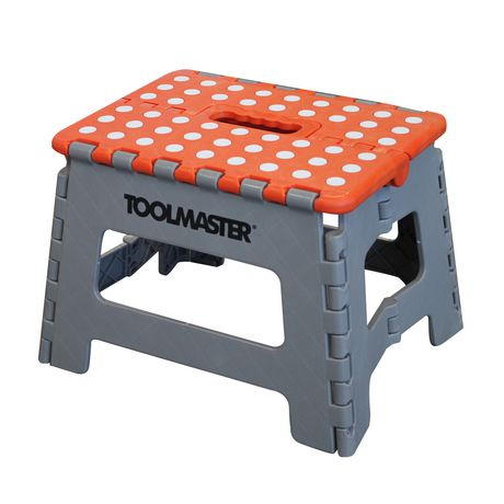 Toolmaster 2pk Folding Step Stool One Large Step Stool