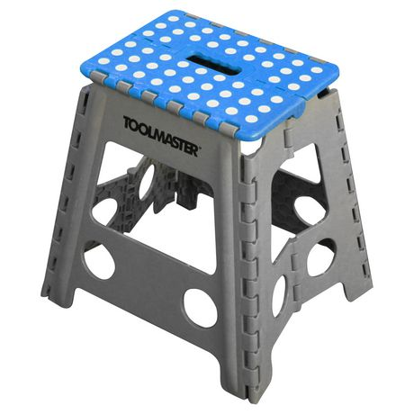 ToolMaster 2pk folding step stool. One large step stool and one small step stool. - image 1 of 3