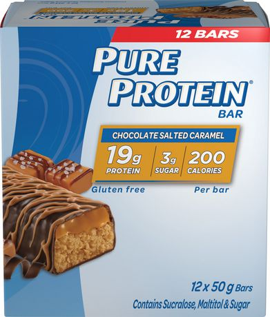 Pure Protein Chocolate Salted Caramel Bars - image 1 of 3