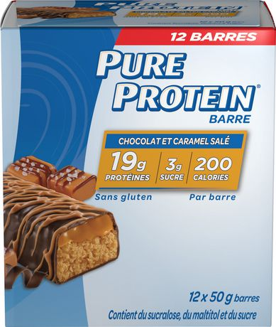 Pure Protein Chocolate Salted Caramel Bars - image 2 of 3
