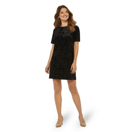 bbca955b757b1d George Women's Short Sleeve Shift Dress | Walmart Canada