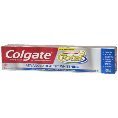 Colgate Total Advanced Health Whitening Gel Toothpaste - image 2 of 4